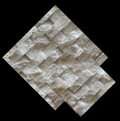หินจิ๊กซอว์ สีครีม JS-01