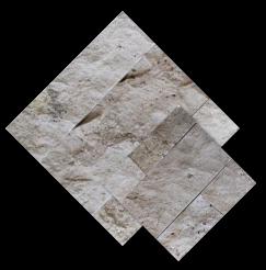 หิน ทราเวอทีน หน้ากระแทก