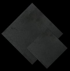 หินธรรมชาติ Black basalt Honed สีดำ