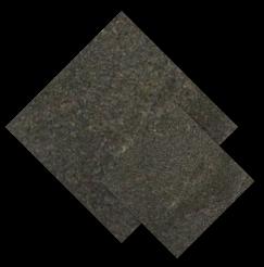 หิน ลาวา สีดำ หน้ากระทก Black Lava Stone
