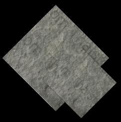 หินธรรมชาติ Grey Basalt Framed & Brushed สีเทา